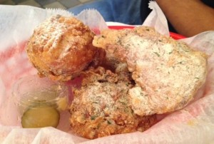 Buttermilk ranch fried chicken