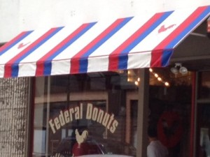 Federal Donuts on Sansom Street in Center City Philadelphia