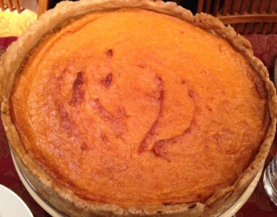 Scrumptious sweet potato torte; it doesn't get any better than this